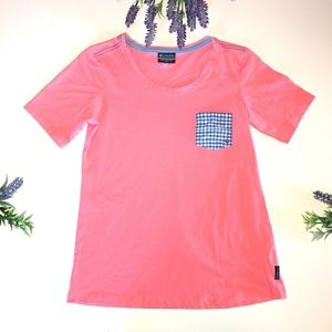 Columbia Sportswear Co. Size XL Pink Gingham Top